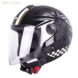 dcf17861cf2 Otevřená helma W-TEC FS-715B Union Black empty