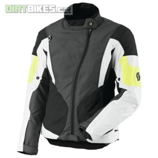 Dámská moto bunda SCOTT Technit DP grey/yellow vel. L