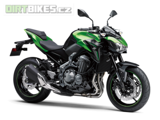 KAWASAKI Z900 A2 70/35kw MY18 CANDY LIME GREEN / METALLIC FLAT SPARK BLACK