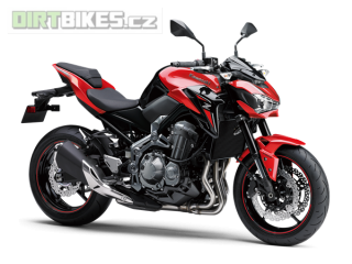 KAWASAKI Z900 A2 70/35kw MY18 Candy Persimmon RED/ METALLIC SPARK BLACK