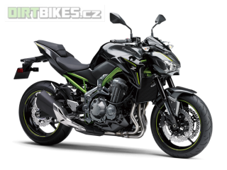 KAWASAKI Z900 A2 70/35kw MY18 METALLIC FLAT SPARK BLACK / METALLIC SPARK BLACK