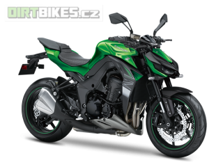 7.KAWASAKI Z1000 MY18 Emerald Blazed Green / Metallic Carbon Gray