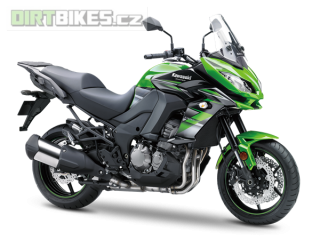 2. KAWASAKI VERSYS 1000 ABS MY18 Candy Lime Green / Metallic Spark Black