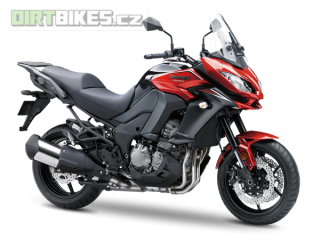 2. KAWASAKI VERSYS 1000 ABS MY18 Candy Fire Red / Metallic Flat Spark Black