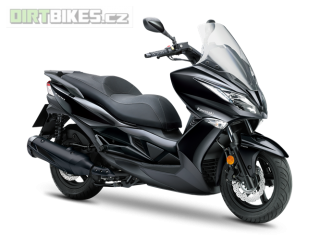 KAWASAKI J300 MY18 Metallic Anthracite Black
