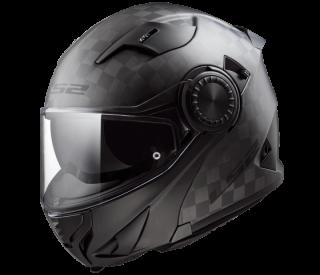 2c7f898c22b LS2 FF313 Vortex Solid Carbon helma výklopná empty