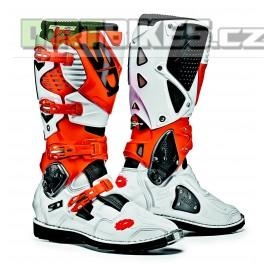 motokrosové boty SIDI CROSSFIRE 3 white/orange black