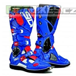 SIDI CROSSFIRE 3 WHITE BLUE/RED FLUO