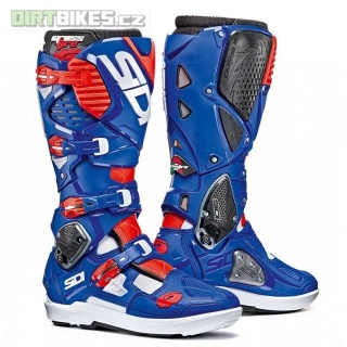 SIDI CROSSFIRE 3 SRS WHITE/BLUE/RED/FLUO
