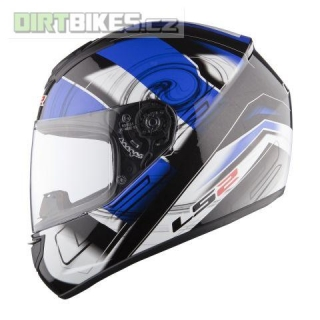 LS2 FF351 ACTION White Blue
