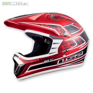 LS2 MX426 RED AIRFORCE2 junior