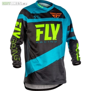 dres F-16, FLY RACING  Blue/Hi-vis S