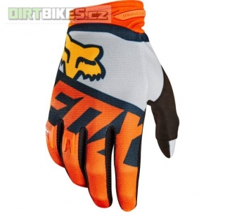 Pánské rukavice Fox Dirtpaw Sayak Glove Orange 2018