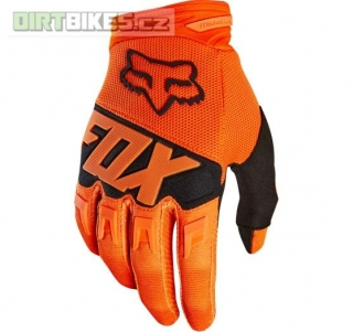 Pánské rukavice Fox Dirtpaw Race Glove Orange 2018
