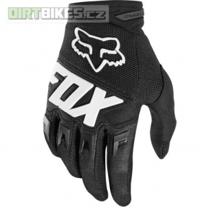 Pánské rukavice Fox Dirtpaw Race Glove Black 2018