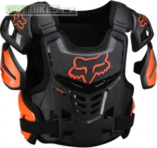Pánský MX chránič Fox Racing Raptor Vest Orange