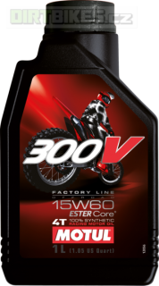 Motul 300V 4T Factory line Off road 15W60 1l