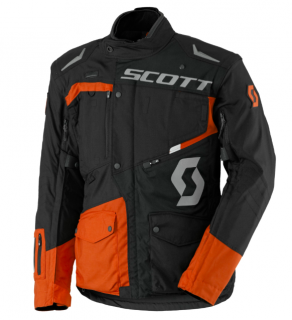 bunda pánská SCOTT DUALRAID DP JACKET black/orange