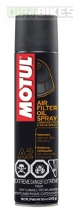 Motul A2 Air filter oil 400 ml spray