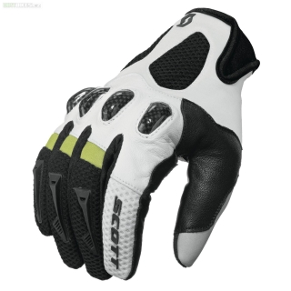 MOTO  rukavice SCOTT glove ASSAULT black/white