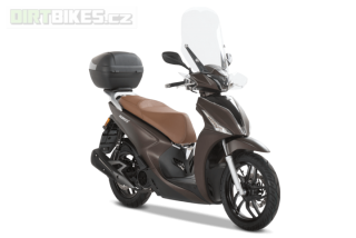 1. Kymco NEW PEOPLE S 125i ABS hnědá mat