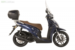 1. Kymco NEW PEOPLE S 125i ABS modrá metal.
