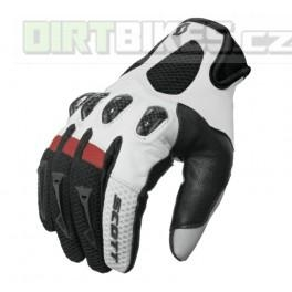 MOTO  rukavice SCOTT glove ASSAULT white/red/black