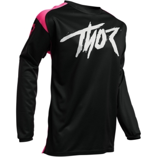 dětský dres MX THOR S20Y Sector pink